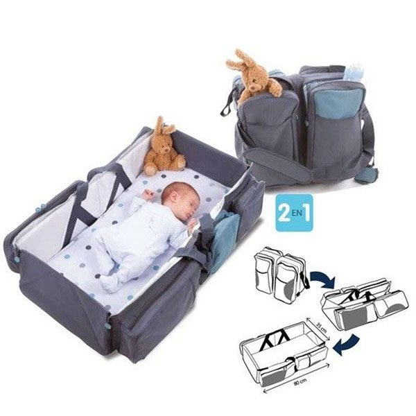 Baby 2 in 1 Foldable Bag And Bed