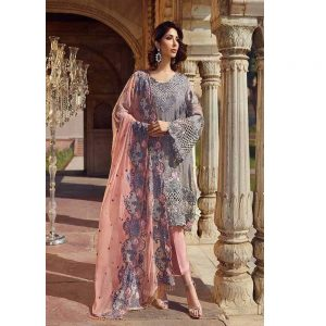 Akbar Aslam Chiffon Collection 2019