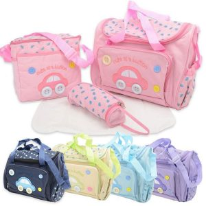 4 Pcs Multi-Function Mother Bag