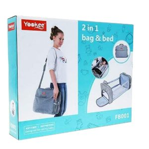 2 in 1 Baby Bag & Bed