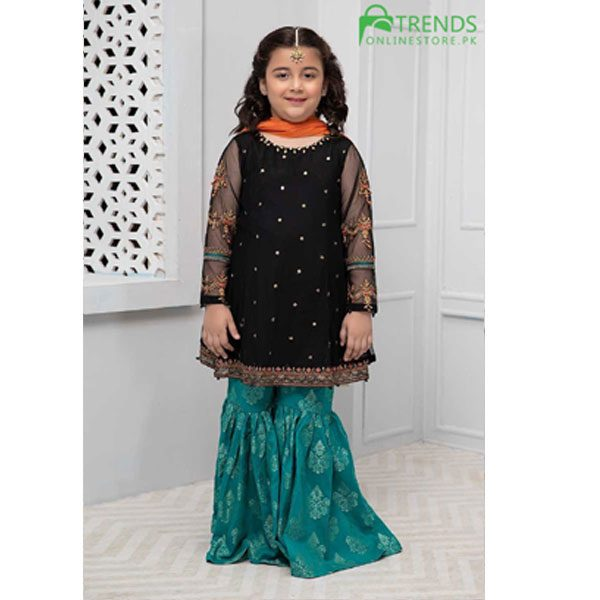 Maria.B Wedding Kids Embroidered Dress