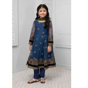 Maria.B Net Kids Embroidered Dress