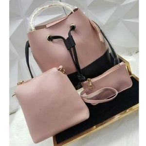 Stylish Women Hand Bag Pack of 3 Pcs