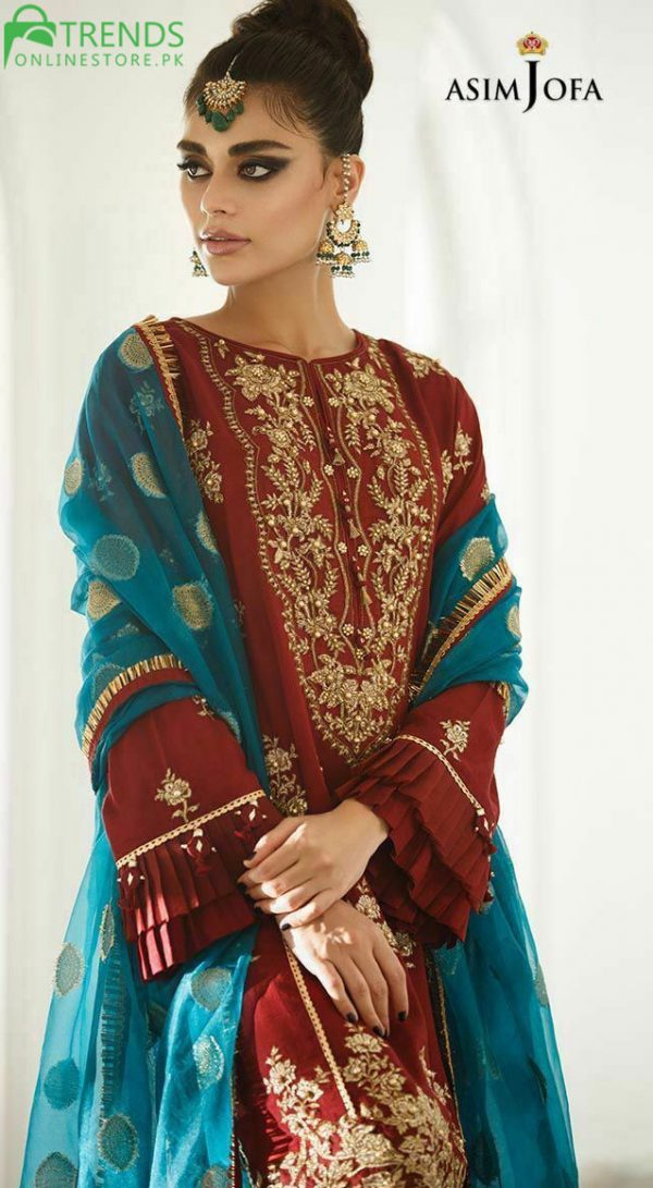 Asim Jofa Chiffon Eid Collection