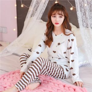 Ladies Printed Night Suit